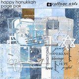 Happy Hanukkah Page Pak