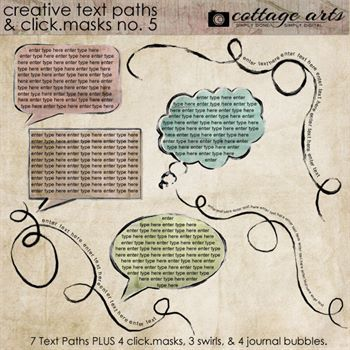 Creative Text Paths - Click.masks 5
