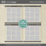 Mosaic Layout Bundle 3