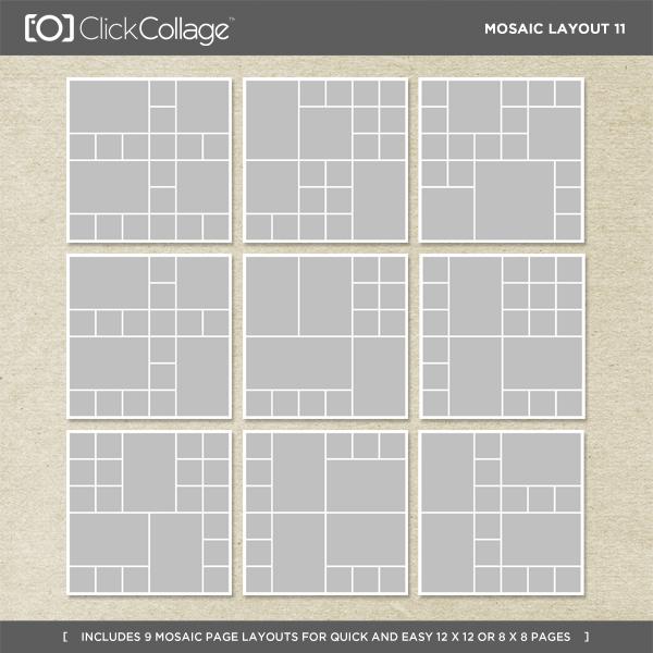 Mosaic Layout 11
