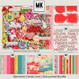 Operation Candy Cane - Sequin Papers