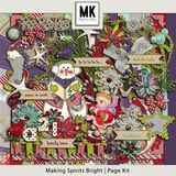 Making Spirits Bright - Page Kit
