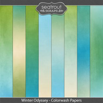 Winter Odyssey Colorwash Papers