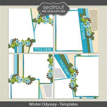 Winter Odyssey Templates