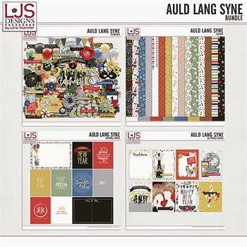 Auld Lang Syne - Bundle Digital Art - Digital Scrapbooking Kits
