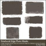 Notebook Edge Photo Masks