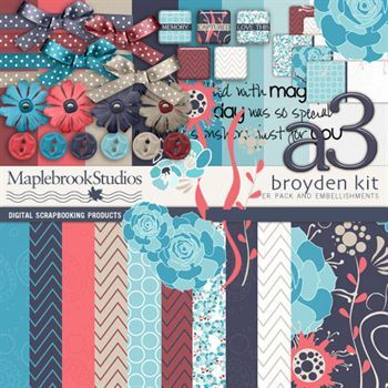 Broyden Scrapbook Kit