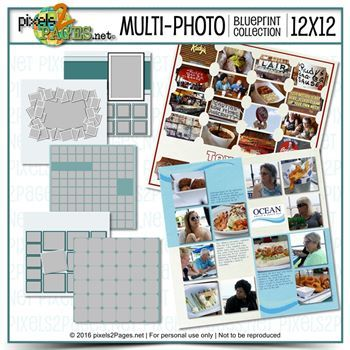 12x12 Multiphoto Blueprint Collection