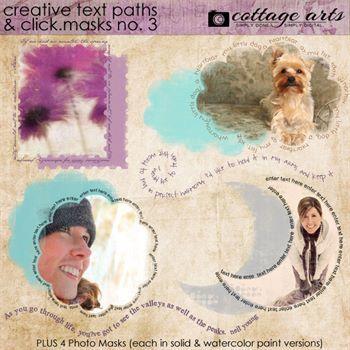Creative Text Paths - Click.masks 3