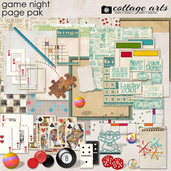 Game Night Page Pak