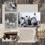 The Heritage Trail Pre-designed Book 12x12