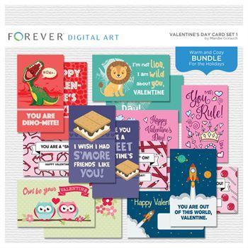 Valentine's Day Card Set 1