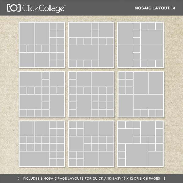 Mosaic Layout 14