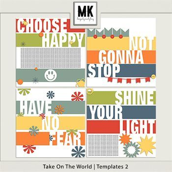 Take On The World - Templates 2