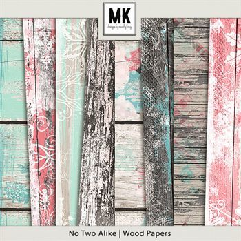 No Two Alike - Wood Papers