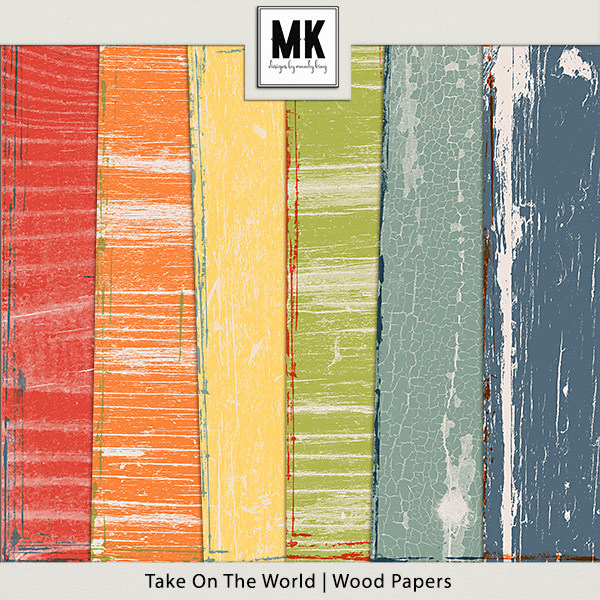 Take On The World - Wood Papers