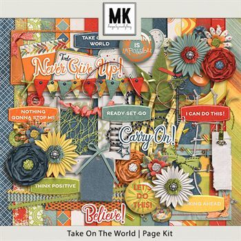 Take On The World - Page Kit