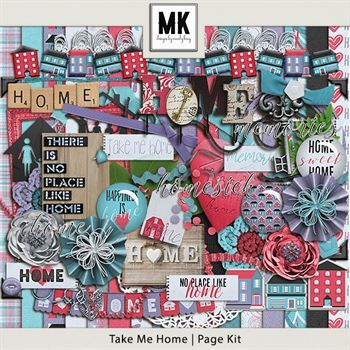Take Me Home - Page Kit