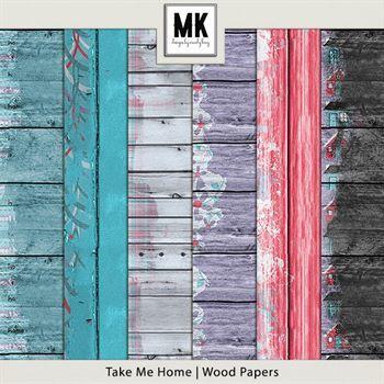 Take Me Home - Wood Papers
