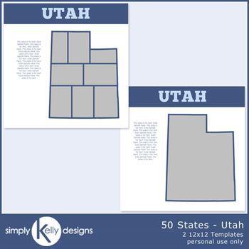 50 States - Utah