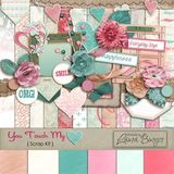 You Touch My Heart Scrap Kit