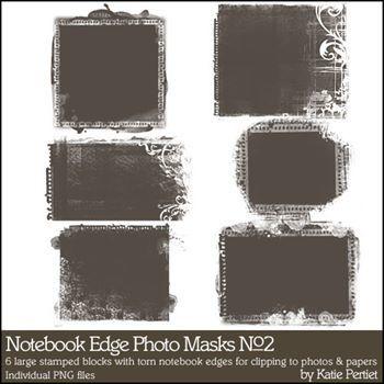Notebook Edge Photo Masks No. 02