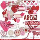 Krafty Love Element Pack