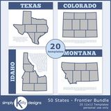 50 States - Frontier Bundle