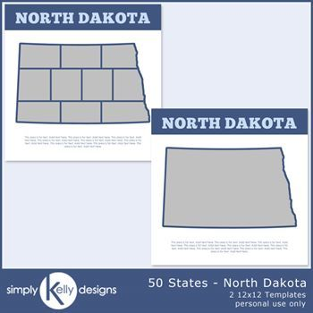50 States - North Dakota
