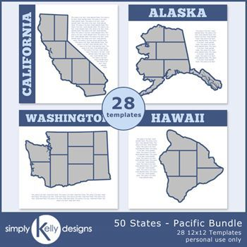 50 States - Pacific Bundle