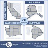 50 States - Pacific Bundle
