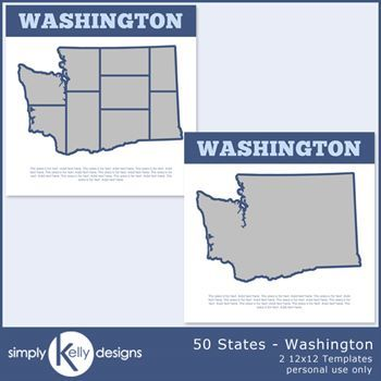 50 States - Washington