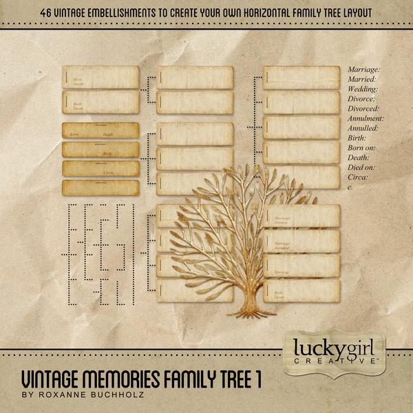 Vintage Memories Family Tree 1