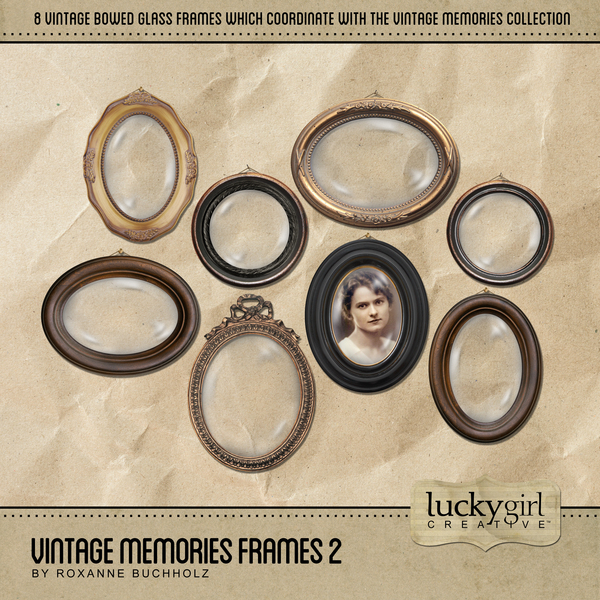 Vintage Memories Frames 2