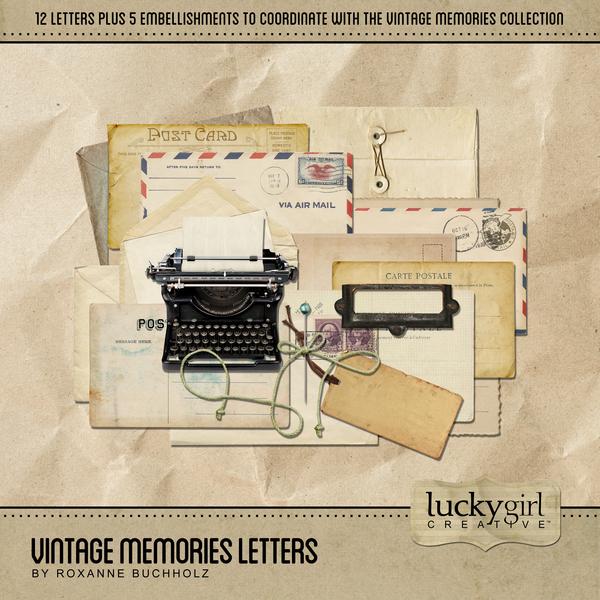 Vintage Memories Letters