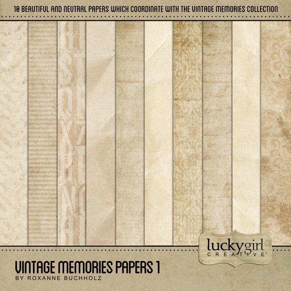 Vintage Memories Papers 1