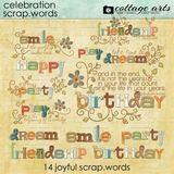 Celebration Scrap.words