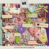 Love Grows Here - Page Kit