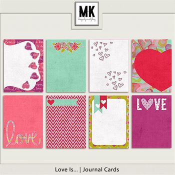 Love Is - Journal Cards