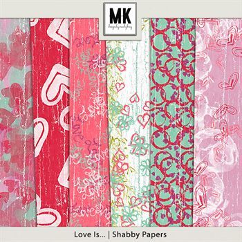 Love Is - Shabby Papers