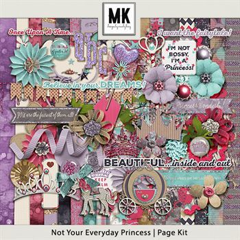 Not Your Everyday Princess Page Kit