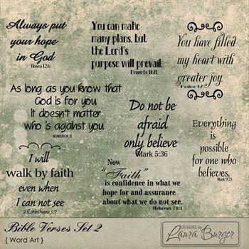 Bible Verses Set 2