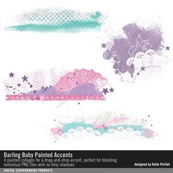 Darling Baby Painted Accents