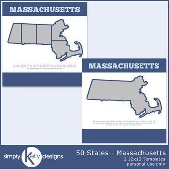 50 States - Massachusetts