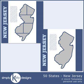 50 States - New Jersey