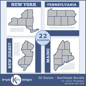 50 States - Northeast Bundle