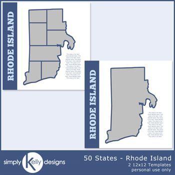 50 States - Rhode Island