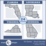 50 States - South Bundle