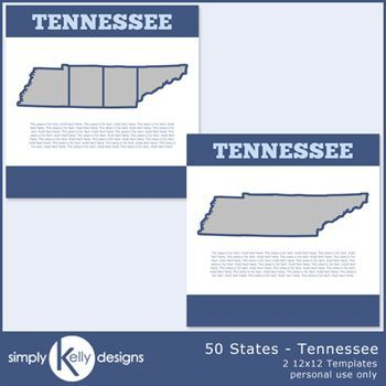 50 States - Tennessee