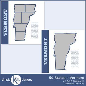 50 States - Vermont